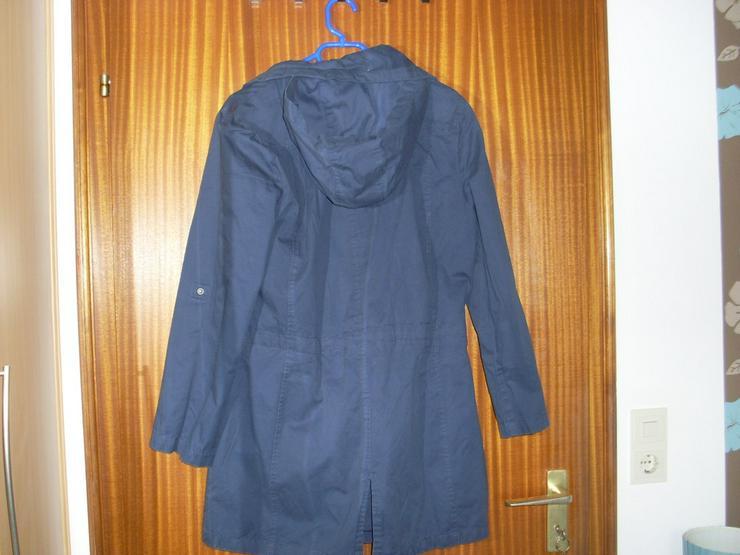 Bild 4: Damen Jacke blau m. Kapuze Gr. 42