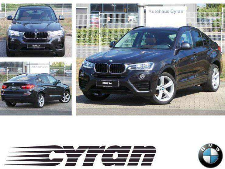 BMW X4 xDrive30d AT Navi Prof. AHK Standhzg.Glas EU6