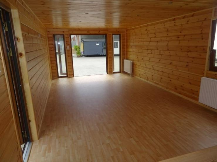 Bild 4: Mobilheim Holz mit sauna wohnwagen dauercamping