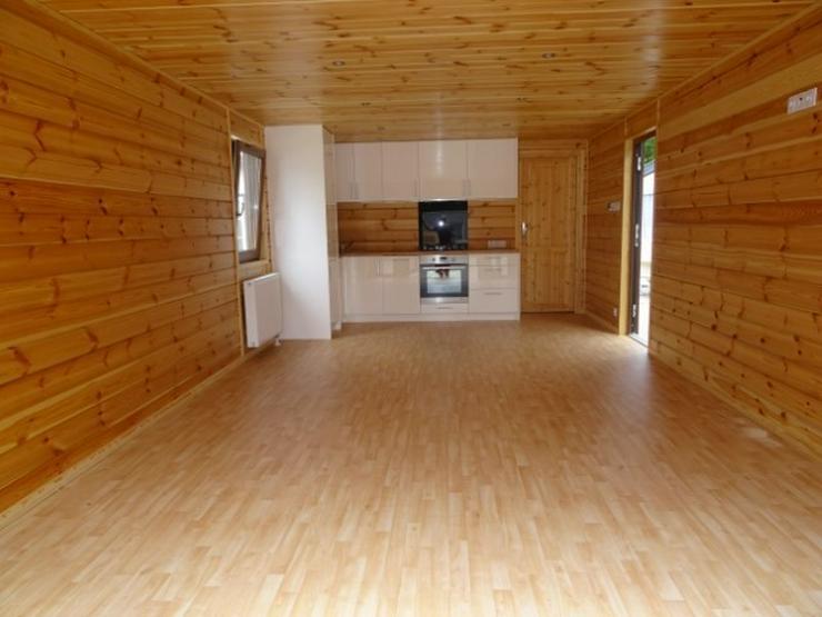 Bild 5: Mobilheim Holz mit sauna wohnwagen dauercamping