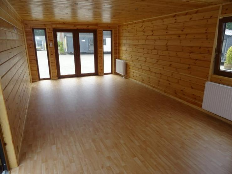 Bild 6: Mobilheim Holz mit sauna wohnwagen dauercamping