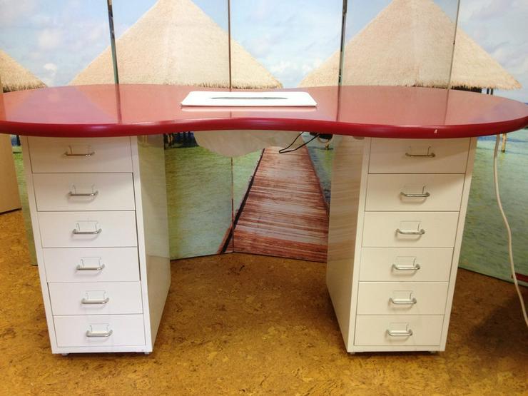 nageldesign manik re tisch mit absaugung schnn in bockhorn auf. Black Bedroom Furniture Sets. Home Design Ideas