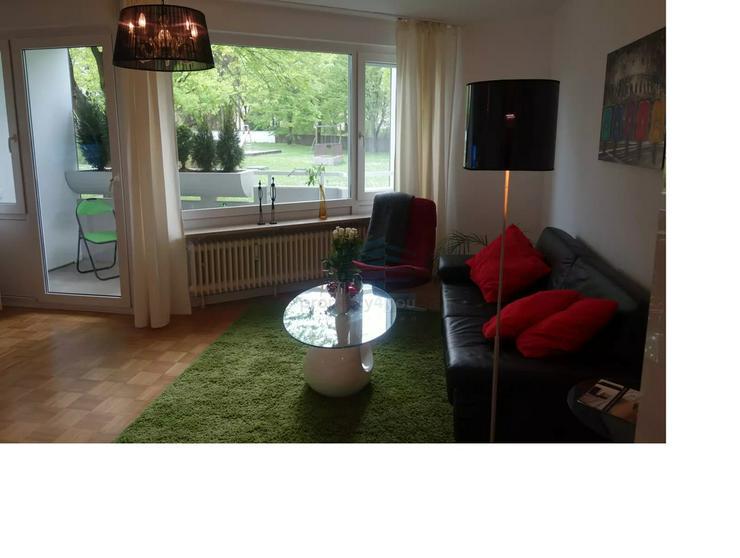 Bild 4: Sehr schöne 2-Zi. Wohnung mit großem Balkon und Blick in den Innenhof