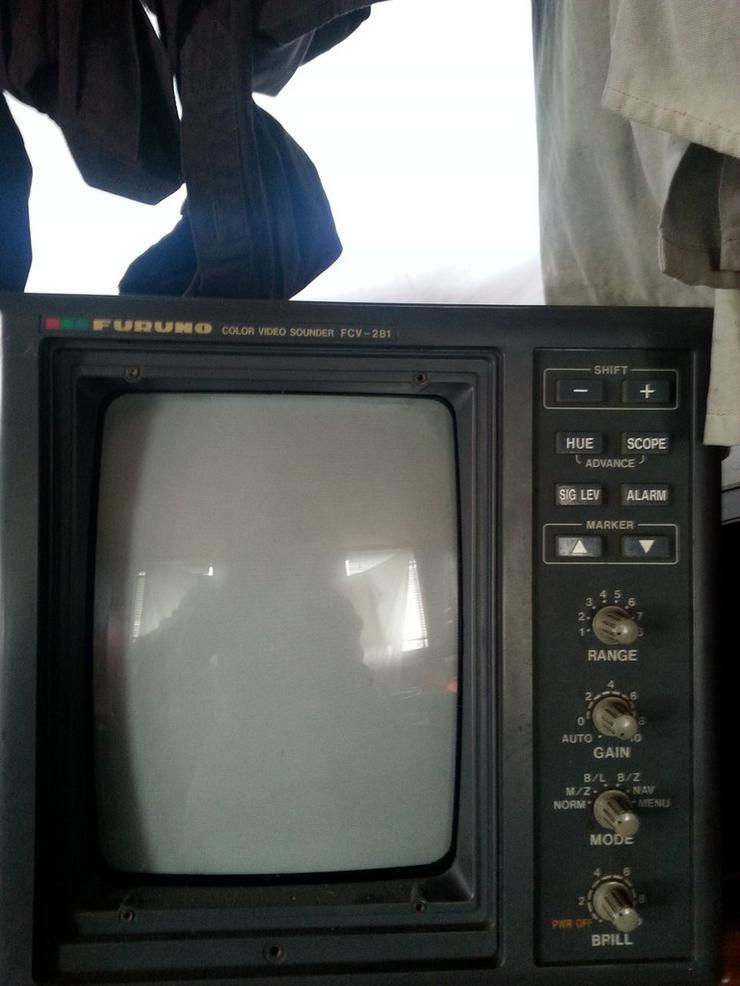 biete furuno colour video sounder FCV 281