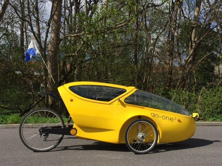 Bild 2: Go-one 3 - Das Fahrrad für jedes Wetter
