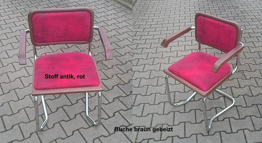 Bild 3: Freischwinger VIENNA mit Polsterung