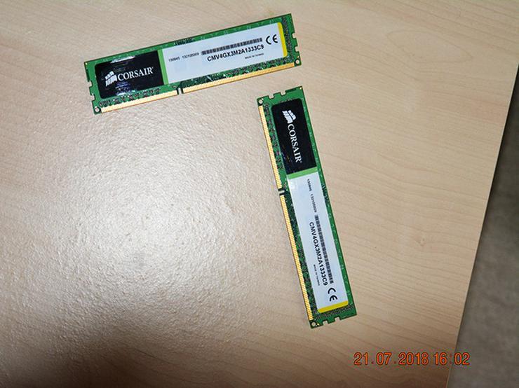 Bild 2: Corsair Value Select DDR3 1333 Mhz 4GB (2x2)
