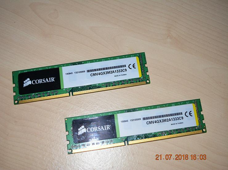 Bild 3: Corsair Value Select DDR3 1333 Mhz 4GB (2x2)