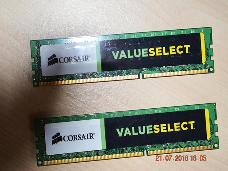 Bild 5: Corsair Value Select DDR3 1333 Mhz 4GB (2x2)