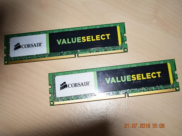 Bild 6: Corsair Value Select DDR3 1333 Mhz 4GB (2x2)