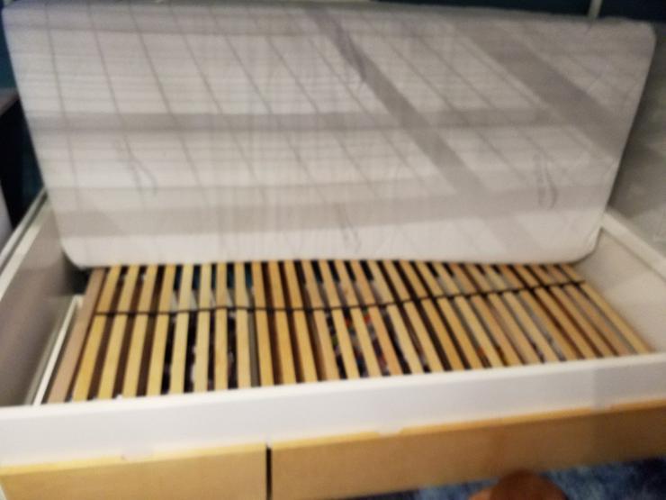 Bett IKEA komplett 2,0 x 0,9 Lattenrost, Matra