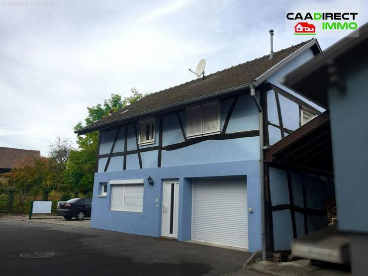 Einfamilienhaus im Elsass - 15 km von Basel u. Deutschland - Haus kaufen - Bild 1