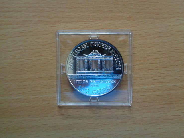 EURO-Münze, 1 Unze Feinsilber, Österreich 2008
