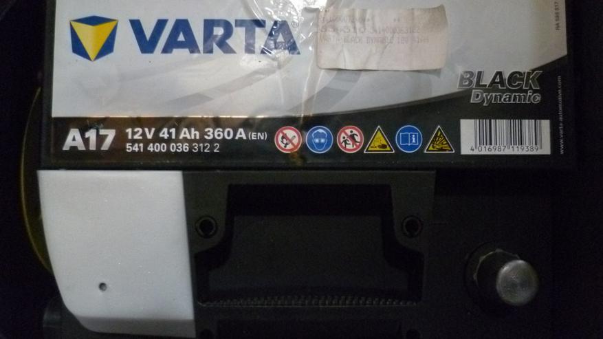 Autobatterie-Varta Black Dynamic 41 Ah 360A