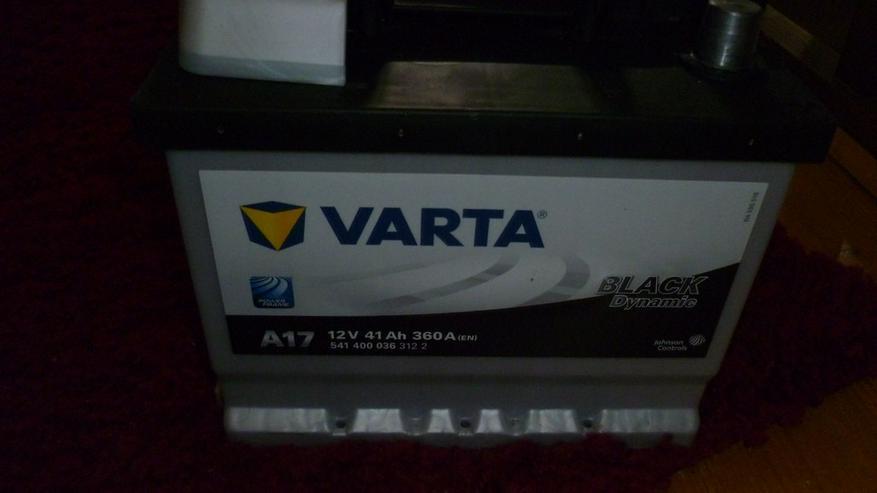 Bild 4: Autobatterie-Varta Black Dynamic 41 Ah 360A