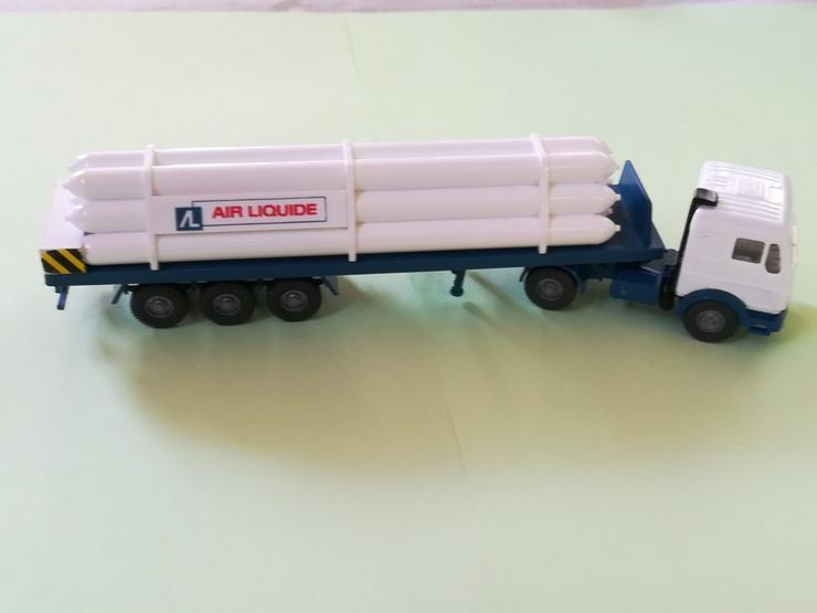 Bild 2: Wiking HO Modell MB NG 1635 S Gastransport