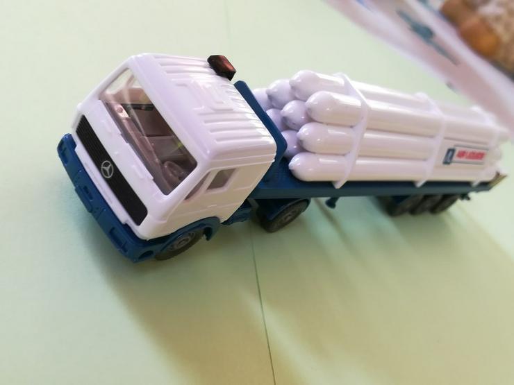 Bild 4: Wiking HO Modell MB NG 1635 S Gastransport