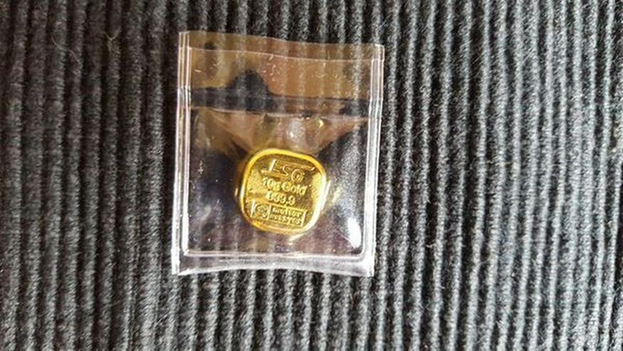 Münzen Konvolut und Gold Barren