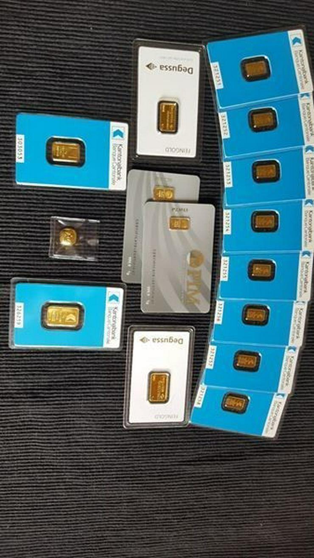 Bild 4: Münzen Konvolut und Gold Barren