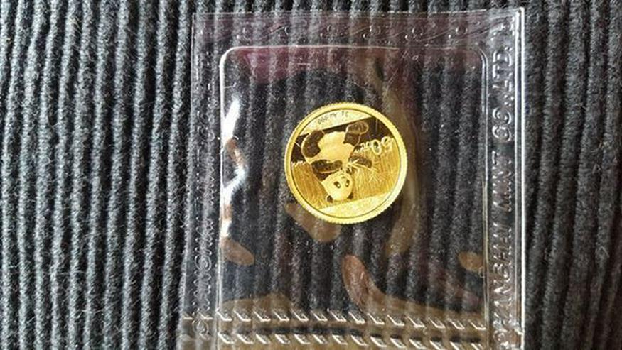 Bild 6: Münzen Konvolut und Gold Barren