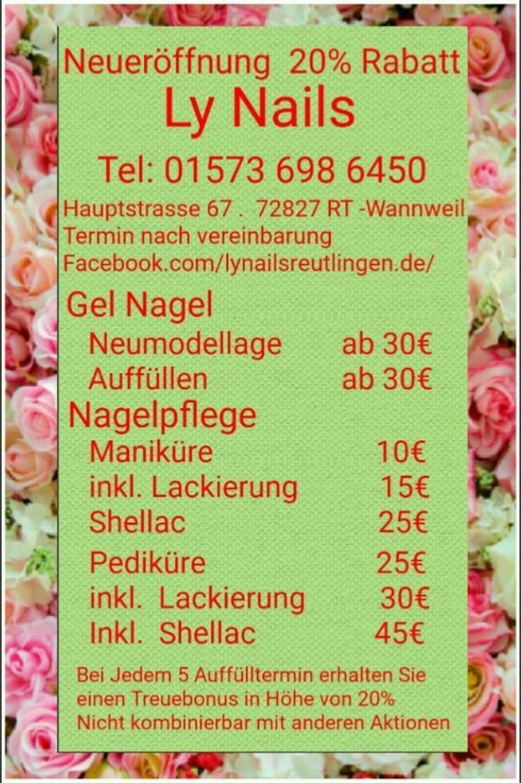 Ly Nails Reutlingen