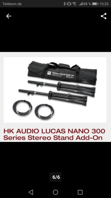 Bild 2: Neu OVP Lucas Nano 305 fx +2 Ständer+Bag