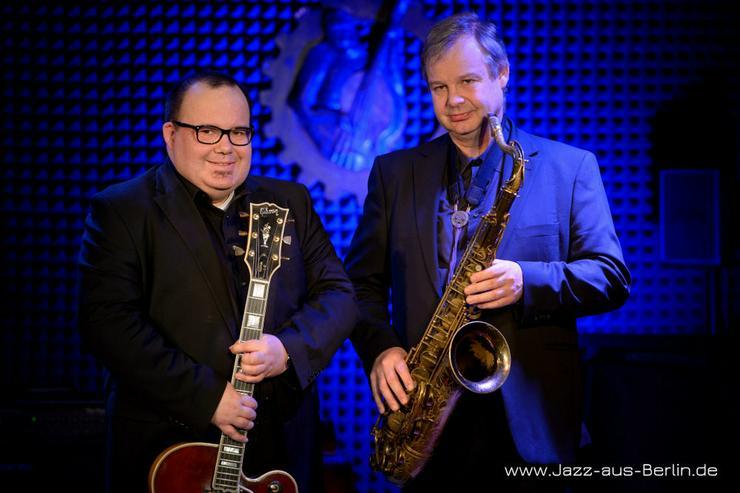 JazzDuo - Saxophon oder Kontrabass + Gitarre