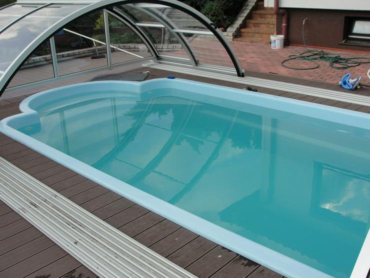 Bild 6: Polyester Pool 6,30x3,00x1,50 + Zubehör