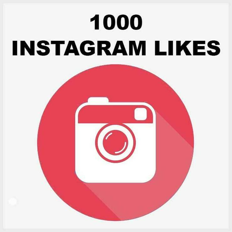 1000 ECHTE AKTIVE INSTAGRAM LIKES
