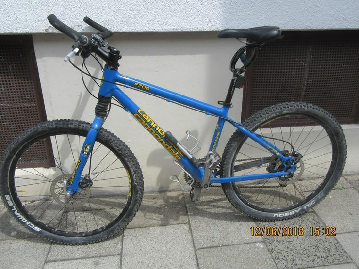 MTB, Mountainbike Damen, Cannondale F 700 blue