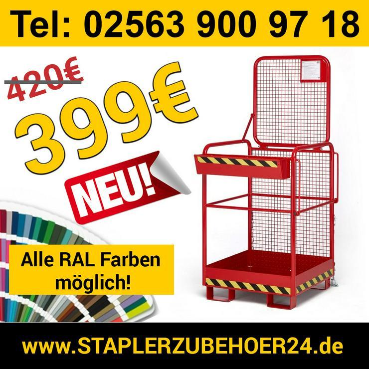 Arbeitskorb Personenkorb Arbeitsbühne Stapler - Metallverarbeitung & Fahrzeugbau - Bild 1