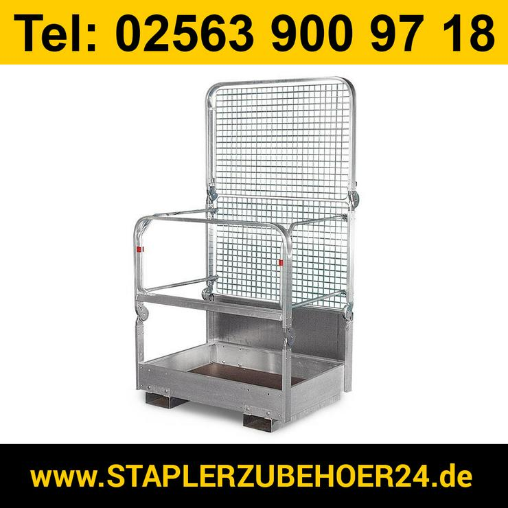 Klappbarer Arbeitskorb aus Aluminium - Metallverarbeitung & Fahrzeugbau - Bild 1
