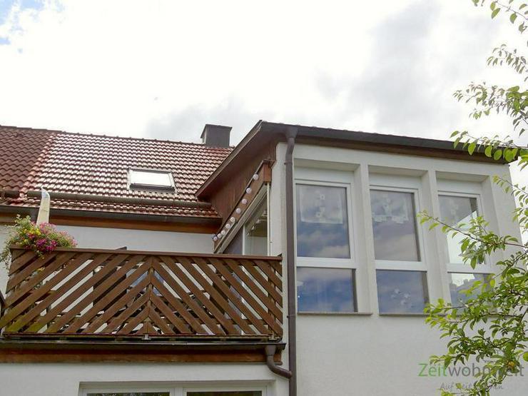 (EF0348_F) Dresden: Bühlau/Weißer Hirsch, kleines ruhiges möbliertes Hinterhaus mit Bal...