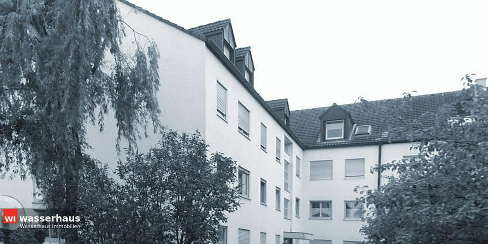 Bild 1: 2 Zimmer mit Südbalkon, EBK, Bad mit Wanne und extra breiten TG Stellplatz