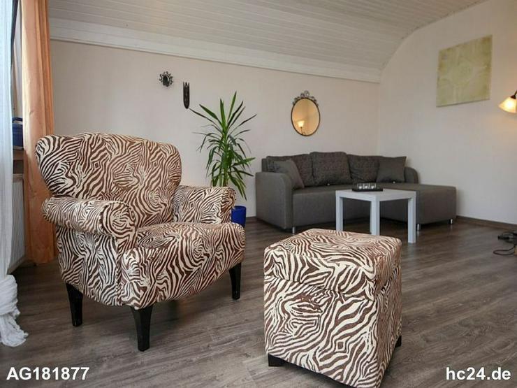 Möblierte 2-Zimmer Wohnung mit Internet und Balkon in Niederhadamar