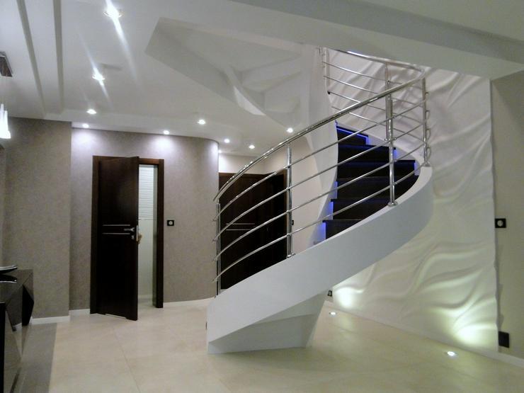 Wendeltreppen - Massive Treppe aus Beton
