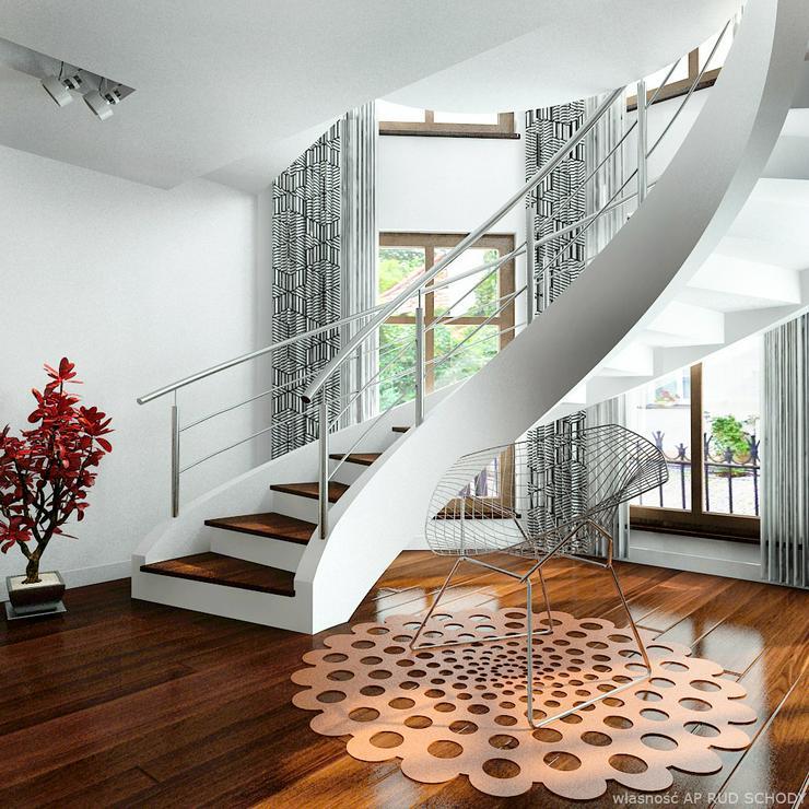 Spiraltreppen - Massive Treppe aus Beton