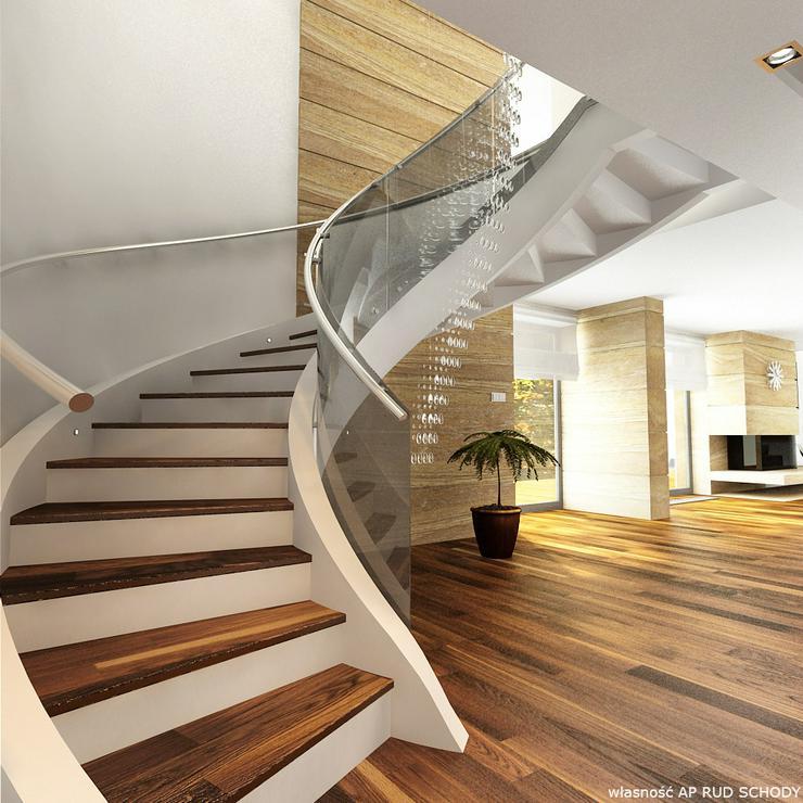 Bild 2: Spiraltreppen - Massive Treppe aus Beton