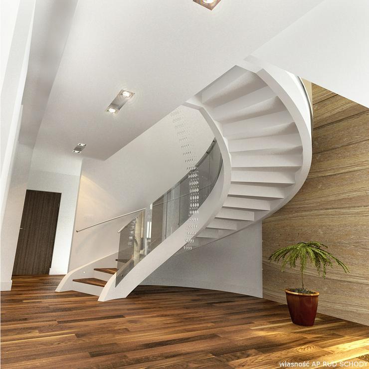 Bild 3: Spiraltreppen - Massive Treppe aus Beton