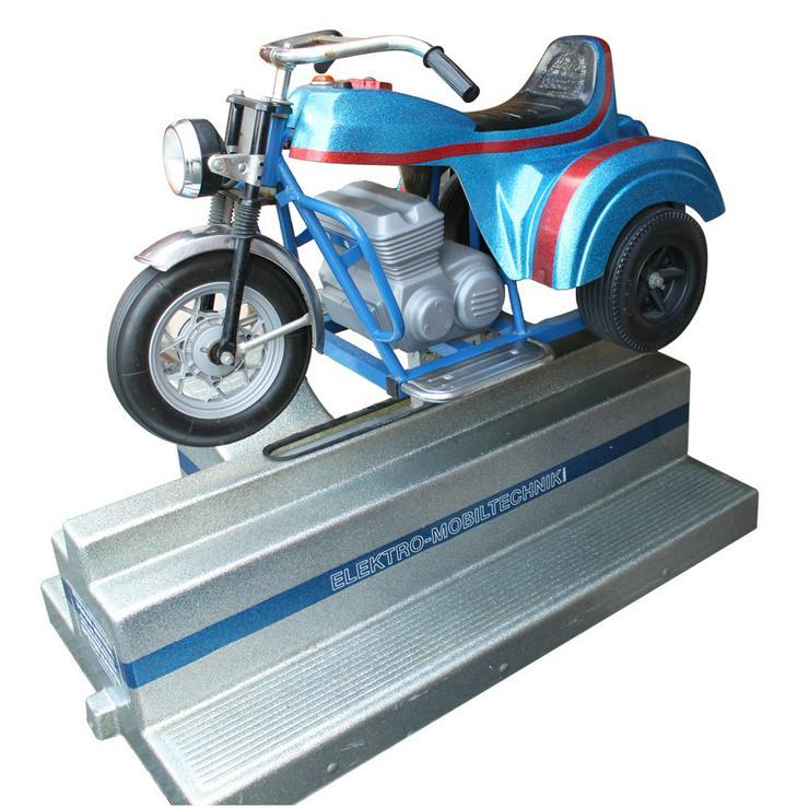 Elektr. Schaukelmotorrad Schaukelautomat