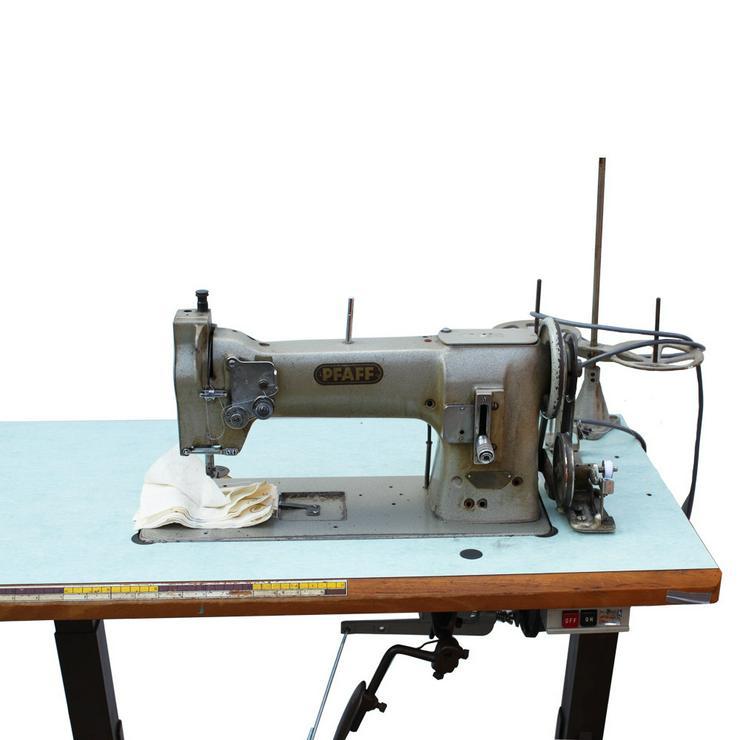Bild 3: Pfaff Einnadel Industrie-Nähmaschine