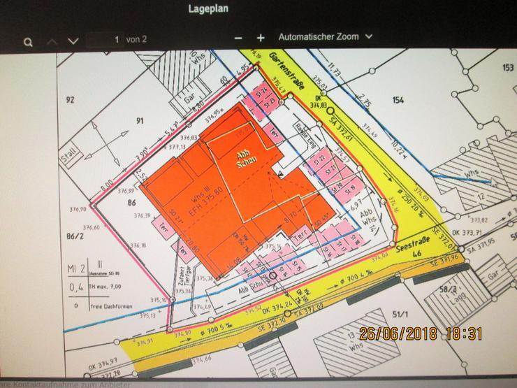 Bauplatz mit genehmigter Planung 12 Wohnungen - Grundstück kaufen - Bild 1