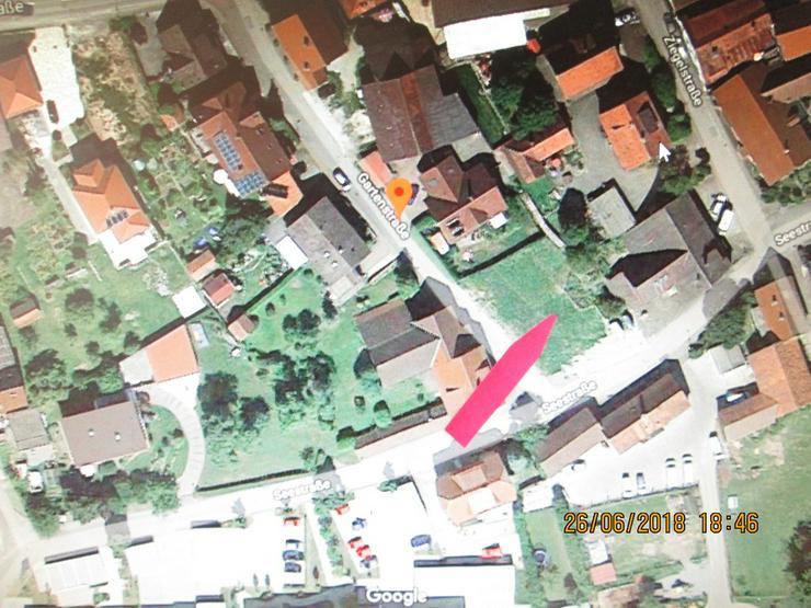 Bild 3: Bauplatz mit genehmigter Planung 12 Wohnungen