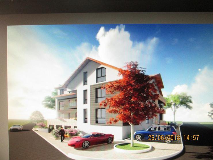 Bild 4: Bauplatz mit genehmigter Planung 12 Wohnungen