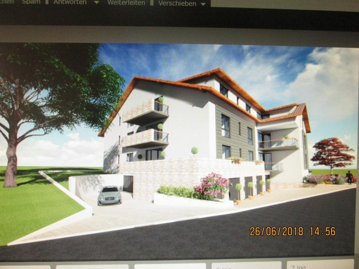 Bild 5: Bauplatz mit genehmigter Planung 12 Wohnungen