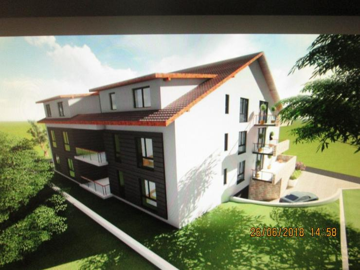 Bild 6: Bauplatz mit genehmigter Planung 12 Wohnungen