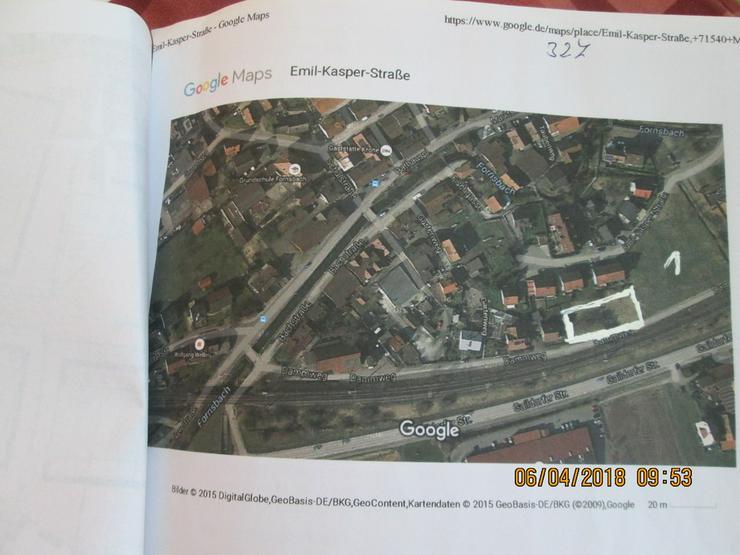 Bauplatz in Murrhardt 155 Euro pro qm
