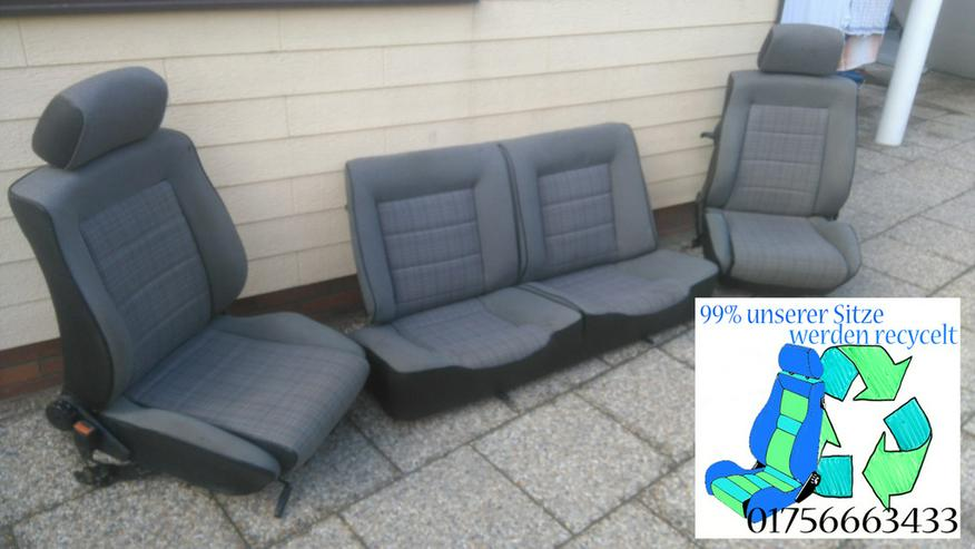 Golf 1 Cabrio Sitze neubezogen Recaro Sitze G
