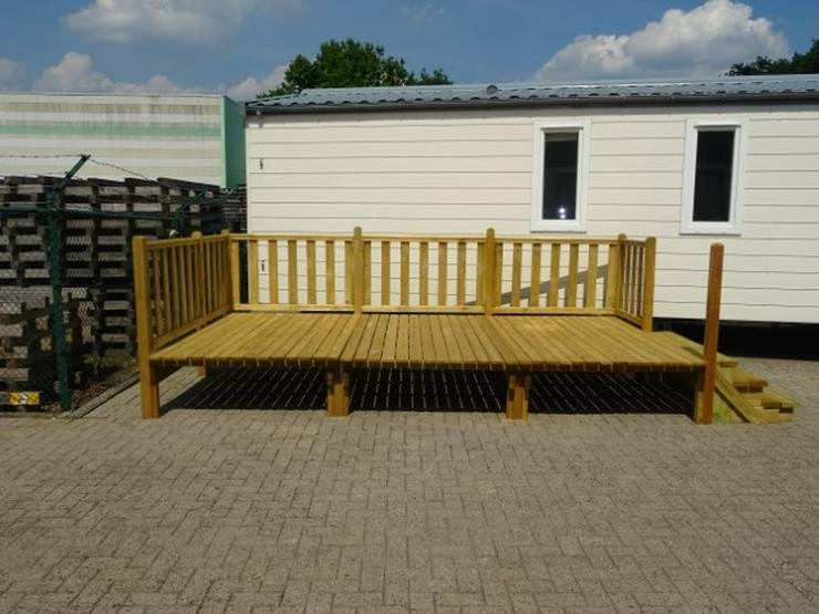 Bild 2: Große Terrasse für wohnwagen mobilheime dauer