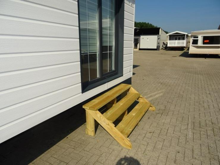 Große Treppe für wohnwagen mobilheime dauercamp